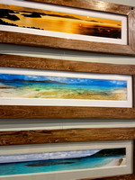 Panorama 40x10 repurposed teak frames